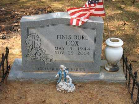 COX, FINIS BURL - White County, Arkansas | FINIS BURL COX - Arkansas Gravestone Photos