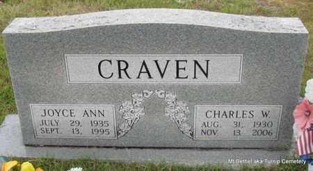 CRAVEN, JOYCE ANN - White County, Arkansas   JOYCE ANN CRAVEN - Arkansas Gravestone Photos