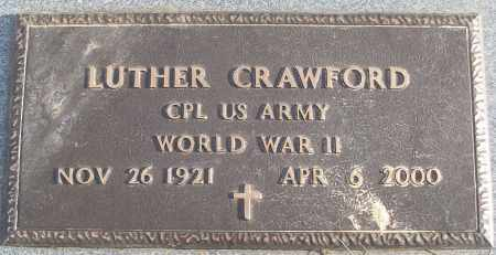 CRAWFORD (VETERAN WWII), LUTHER - White County, Arkansas | LUTHER CRAWFORD (VETERAN WWII) - Arkansas Gravestone Photos