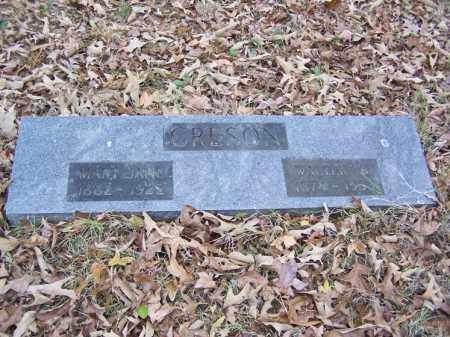 CRESON, WALTER B. - White County, Arkansas | WALTER B. CRESON - Arkansas Gravestone Photos