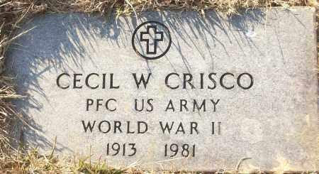 CRISCO (VETERAN WWII), CECIL W - White County, Arkansas | CECIL W CRISCO (VETERAN WWII) - Arkansas Gravestone Photos