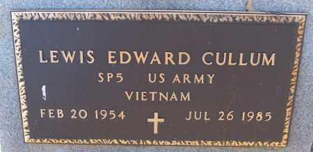 CULLUM (VETERAN VIET), LEWIS EDWARD - White County, Arkansas | LEWIS EDWARD CULLUM (VETERAN VIET) - Arkansas Gravestone Photos