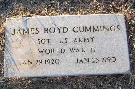CUMMINGS (VETERAN WWII), JAMES BOYD - White County, Arkansas | JAMES BOYD CUMMINGS (VETERAN WWII) - Arkansas Gravestone Photos