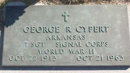 CYPERT (VETERAN WWII), GEORGE R - White County, Arkansas | GEORGE R CYPERT (VETERAN WWII) - Arkansas Gravestone Photos