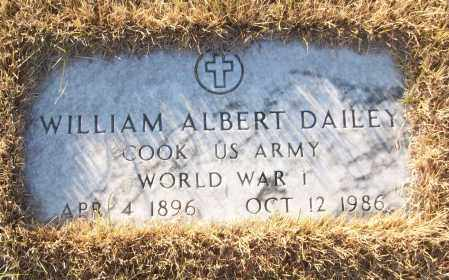 DAILEY (VETERAN WWI), WILLIAM ALBERT - White County, Arkansas   WILLIAM ALBERT DAILEY (VETERAN WWI) - Arkansas Gravestone Photos