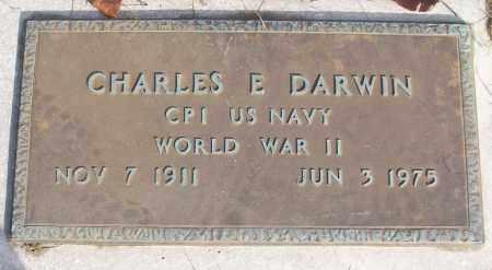 DARWIN (VETERAN WWII), CHARLES E - White County, Arkansas | CHARLES E DARWIN (VETERAN WWII) - Arkansas Gravestone Photos