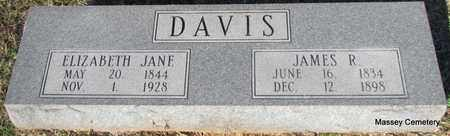 DAVIS, ELIZABETH JANE - White County, Arkansas | ELIZABETH JANE DAVIS - Arkansas Gravestone Photos