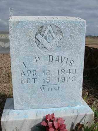 DAVIS, ISRAEL PICKENS - White County, Arkansas | ISRAEL PICKENS DAVIS - Arkansas Gravestone Photos