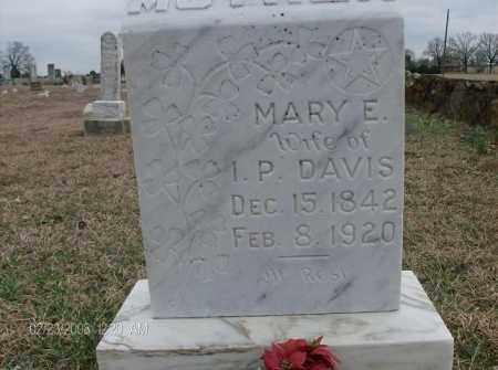 MYATT DAVIS, MARY E - White County, Arkansas | MARY E MYATT DAVIS - Arkansas Gravestone Photos
