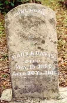 MOONEY DAVIS, MARY A - White County, Arkansas | MARY A MOONEY DAVIS - Arkansas Gravestone Photos