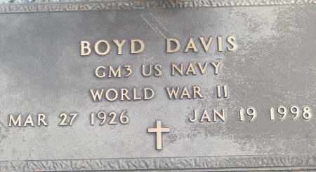 DAVIS (VETERAN WWII), BOYD - White County, Arkansas | BOYD DAVIS (VETERAN WWII) - Arkansas Gravestone Photos