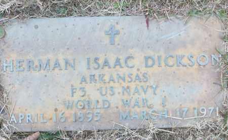 DICKSON (VETERAN WWI), HERMAN ISAAC - White County, Arkansas | HERMAN ISAAC DICKSON (VETERAN WWI) - Arkansas Gravestone Photos