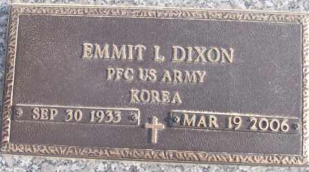 DIXON (VETERAN KOR), EMMIT L - White County, Arkansas | EMMIT L DIXON (VETERAN KOR) - Arkansas Gravestone Photos