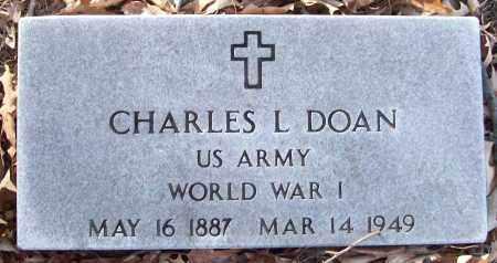 DOAN (VETERAN WWI), CHARLES L - White County, Arkansas | CHARLES L DOAN (VETERAN WWI) - Arkansas Gravestone Photos