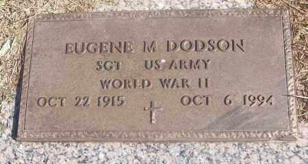 DODSON  (VETERAN WWII), EUGENE M. - White County, Arkansas | EUGENE M. DODSON  (VETERAN WWII) - Arkansas Gravestone Photos