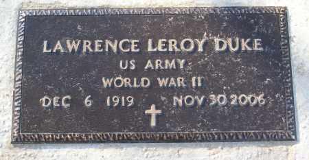 DUKE (VETERAN WWII), LAWRENCE LEROY - White County, Arkansas   LAWRENCE LEROY DUKE (VETERAN WWII) - Arkansas Gravestone Photos