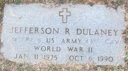DULANEY (VETERAN WWII), JEFFERSON R - White County, Arkansas | JEFFERSON R DULANEY (VETERAN WWII) - Arkansas Gravestone Photos