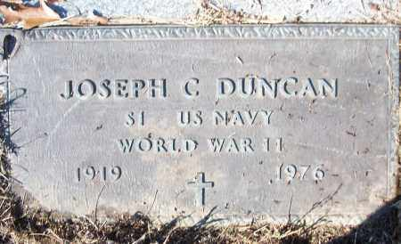 DUNCAN (VETERAN WWII), JOSEPH C - White County, Arkansas | JOSEPH C DUNCAN (VETERAN WWII) - Arkansas Gravestone Photos