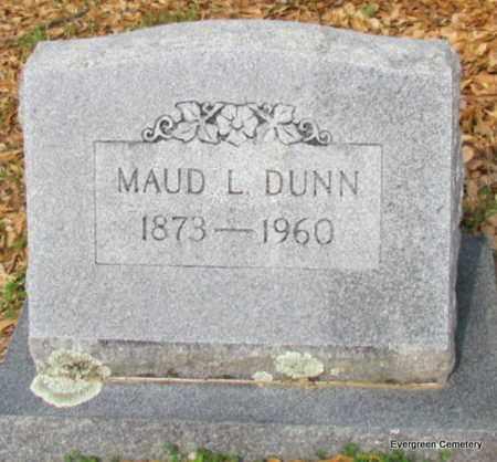 DUNN, MAUD L - White County, Arkansas | MAUD L DUNN - Arkansas Gravestone Photos