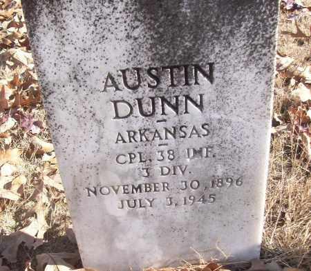 DUNN (VETERAN), AUSTIN - White County, Arkansas | AUSTIN DUNN (VETERAN) - Arkansas Gravestone Photos
