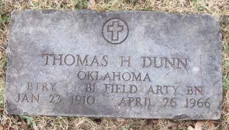 DUNN (VETERAN), THOMAS H - White County, Arkansas   THOMAS H DUNN (VETERAN) - Arkansas Gravestone Photos