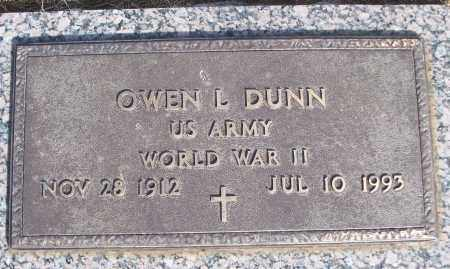 DUNN (VETERAN WWII), OWEN L - White County, Arkansas   OWEN L DUNN (VETERAN WWII) - Arkansas Gravestone Photos