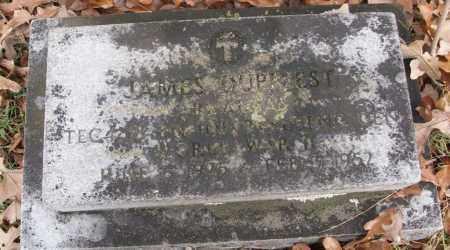 DUPRIEST  (VETERAN WWII), JAMES D - White County, Arkansas | JAMES D DUPRIEST  (VETERAN WWII) - Arkansas Gravestone Photos