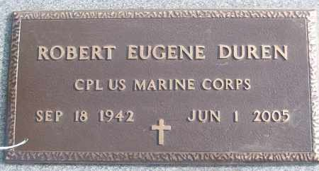 DUREN (VETERAN), ROBERT EUGENE - White County, Arkansas | ROBERT EUGENE DUREN (VETERAN) - Arkansas Gravestone Photos