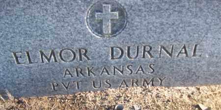 DURNAL (VETERAN), ELMOR - White County, Arkansas | ELMOR DURNAL (VETERAN) - Arkansas Gravestone Photos