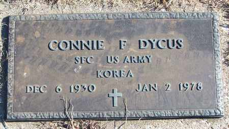 DYCUS (VETERAN KOR), CONNIE F - White County, Arkansas   CONNIE F DYCUS (VETERAN KOR) - Arkansas Gravestone Photos