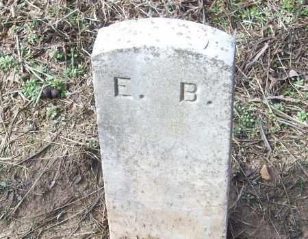 E.B., UNKNOWN - White County, Arkansas   UNKNOWN E.B. - Arkansas Gravestone Photos