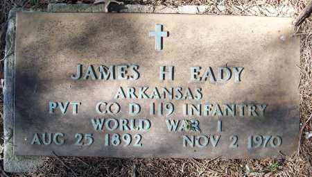 EADY (VETERAN WWI), JAMES H - White County, Arkansas | JAMES H EADY (VETERAN WWI) - Arkansas Gravestone Photos