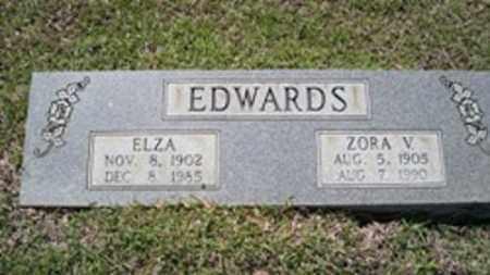 EDWARDS, ZORA V - White County, Arkansas | ZORA V EDWARDS - Arkansas Gravestone Photos