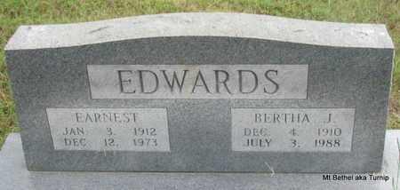 EDWARDS, BERTHA J - White County, Arkansas | BERTHA J EDWARDS - Arkansas Gravestone Photos