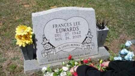 EDWARDS, FRANCES LEE - White County, Arkansas | FRANCES LEE EDWARDS - Arkansas Gravestone Photos