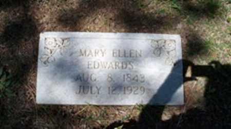 THOMPSON EDWARDS, MARY ELLEN - White County, Arkansas   MARY ELLEN THOMPSON EDWARDS - Arkansas Gravestone Photos