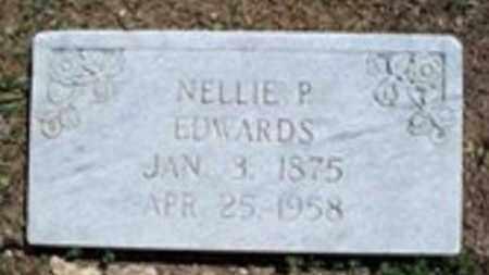 EDWARDS, NELLIE P - White County, Arkansas   NELLIE P EDWARDS - Arkansas Gravestone Photos