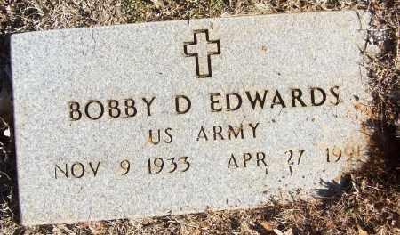 EDWARDS (VETERAN), BOBBY D - White County, Arkansas | BOBBY D EDWARDS (VETERAN) - Arkansas Gravestone Photos