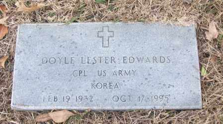 EDWARDS (VETERAN KOR), DOYLE LESTER - White County, Arkansas | DOYLE LESTER EDWARDS (VETERAN KOR) - Arkansas Gravestone Photos