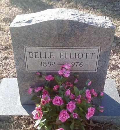 ELLIOTT, BELLE - White County, Arkansas   BELLE ELLIOTT - Arkansas Gravestone Photos