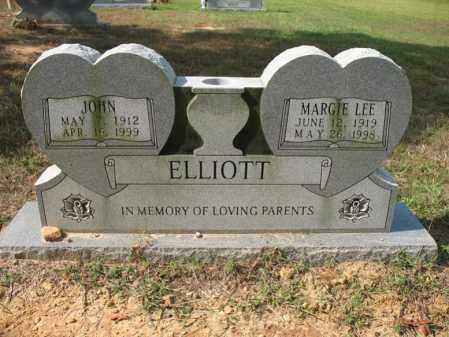 ELLIOTT, JOHN - White County, Arkansas | JOHN ELLIOTT - Arkansas Gravestone Photos