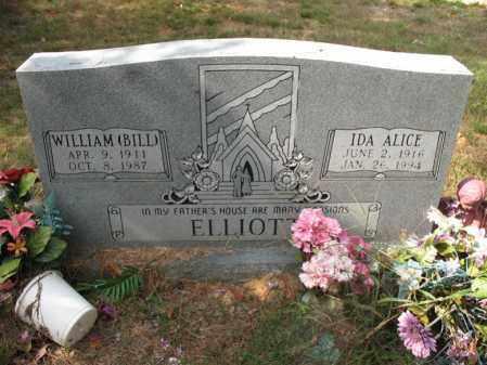 ELLIOTT, IDA ALICE - White County, Arkansas | IDA ALICE ELLIOTT - Arkansas Gravestone Photos