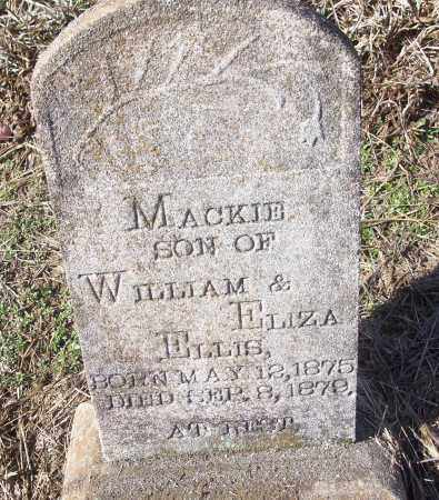 ELLIS, MACKIE - White County, Arkansas | MACKIE ELLIS - Arkansas Gravestone Photos