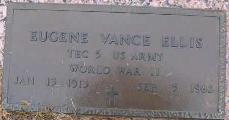 ELLIS (VETERAN WWII), EUGENE VANCE - White County, Arkansas | EUGENE VANCE ELLIS (VETERAN WWII) - Arkansas Gravestone Photos