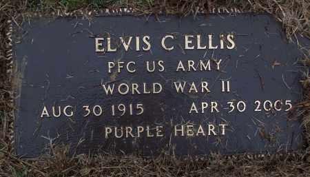 ELLIS (VETERAN WWII), ELVIS C - White County, Arkansas | ELVIS C ELLIS (VETERAN WWII) - Arkansas Gravestone Photos