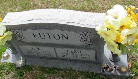 EUTON, ELSIE - White County, Arkansas | ELSIE EUTON - Arkansas Gravestone Photos