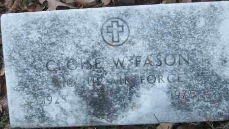 FASON (VETERAN), CLOISE W - White County, Arkansas | CLOISE W FASON (VETERAN) - Arkansas Gravestone Photos