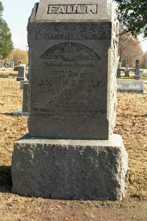 FAULK, GID - White County, Arkansas | GID FAULK - Arkansas Gravestone Photos