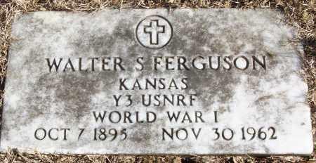 FERGUSON (VETERAN WWI), WALTER S - White County, Arkansas   WALTER S FERGUSON (VETERAN WWI) - Arkansas Gravestone Photos