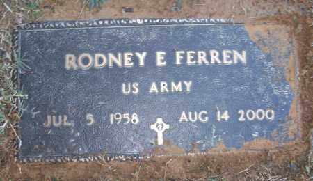 FERRAN (VETERAN), RODNEY E - White County, Arkansas | RODNEY E FERRAN (VETERAN) - Arkansas Gravestone Photos